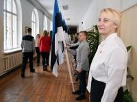 008 Tartu rahu 98. aastapäevale pühendatud konverents Sindi gümnaasiumis. Foto: Urmas Saard
