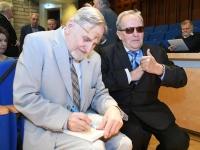 004 Tartu rahuläbirääkimistele pühendatud konverents rahvusraamatukogus. Foto: Urmas Saard