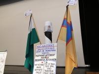 005 Tartu rahuläbirääkimistele pühendatud konverents rahvusraamatukogus. Foto: Urmas Saard