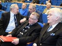 009 Tartu rahuläbirääkimistele pühendatud konverents rahvusraamatukogus. Foto: Urmas Saard