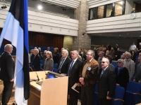 015 Tartu rahuläbirääkimistele pühendatud konverents rahvusraamatukogus. Foto: Urmas Saard
