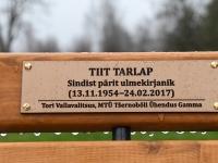001 Tiit Tarlapile mälestuspingi avamine. Foto: Urmas Saard