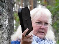 002 Marika Kose,  Tolkuse raba õpperajal. Foto: Urmas Saard