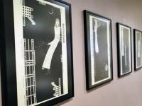 005 Tõnis Vindi graafika ja plakatid Avangard Galeriis. Foto: Urmas Saard