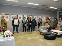 011 Tõnis Vindi graafika ja plakatid Avangard Galeriis. Foto: Urmas Saard