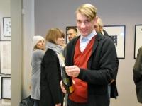 015 Tõnis Vindi graafika ja plakatid Avangard Galeriis. Foto: Urmas Saard