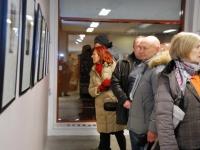 018 Tõnis Vindi graafika ja plakatid Avangard Galeriis. Foto: Urmas Saard