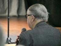 009 Toomas Alatalu peab loengut Tervise konverentsikeskuses TÜ Pärnu kolledži Väärikate ülikooli kuulajatele. Foto: Urmas Saard