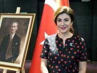 002 Hayriye Kumaşcıoğlu, Türgi Vabariigi aastapäeva tähistamine Tallinna Swissôtellis. Foto: Urmas Saard