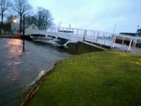 8 Üleujutuse ohus Pärnu. Foto: Urmas Saard