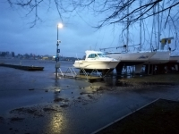 9 Üleujutuse ohus Pärnu. Foto: Urmas Saard