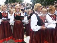 """031 """"Vaba Rahva Laul"""" Paide Vallimäel eelproovide ajal. Foto: Urmas Saard"""