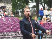 """035 """"Vaba Rahva Laul"""" Paide Vallimäel eelproovide ajal. Foto: Urmas Saard"""
