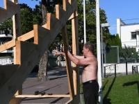"""024 """"Vaba Rahva Laulu"""" tarvis ehitatakse laululava. Foto: Urmas Saard"""