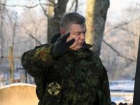 011 Vabadussõja 100. aastapäeva hommikul Sindi Vanal kalmistul. Foto: Urmas Saard