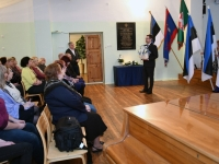 011 Vabadussõjas võidelnute mälestamine Sindi gümnaasiumis. Foto: Urmas Saard
