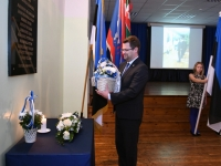 012 Vabadussõjas võidelnute mälestamine Sindi gümnaasiumis. Foto: Urmas Saard