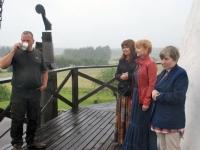 014 Valtu küla külastades, Harri Riim, Jaune Jõenurm, Anneli Pärna, Kärt Saard. Foto: Urmas Saard