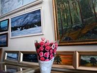 011 Vanda Kirikali seitsmes näitus. Foto: Urmas Saard