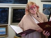 013 Vanda Kirikali seitsmes näitus. Foto: Urmas Saard