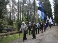 001 Vastupanuvõitlemise päev Tallinna Metsakalmistul. Foto: Heidi Tooming