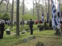 002 Vastupanuvõitlemise päev Tallinna Metsakalmistul. Foto: Heidi Tooming