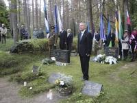 003 Vastupanuvõitlemise päev Tallinna Metsakalmistul. Foto: Heidi Tooming