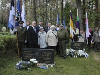 004 Vastupanuvõitlemise päev Tallinna Metsakalmistul. Foto: Heidi Tooming