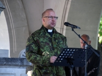 015 Võidupüha jumalateenistus Kaitseväe kalmistul. Foto: Urmas Saard