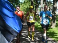 018 Võidupüha maratoonarid Sindis. Foto: Urmas Saard