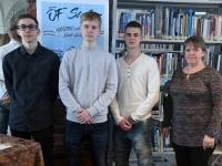 001 Võistlus Pärnumaa parim õpilasfirma 2019 Pärnu kolledžis. Foto: Urmas Saard