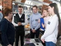 003 Võistlus Pärnumaa parim õpilasfirma 2019 Pärnu kolledžis. Foto: Urmas Saard