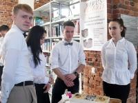 012 Võistlus Pärnumaa parim õpilasfirma 2019 Pärnu kolledžis. Foto: Urmas Saard