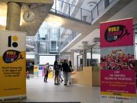 003 World Cleanup Day pressikonverents Tallinna Ülikoolis. Foto: Urmas Saard