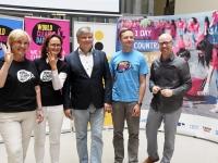 007 World Cleanup Day pressikonverents Tallinna Ülikoolis. Foto: Urmas Saard