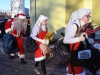 011 XVIII Ülemaaline Jõuluvanade konverents asus teele Sindist. Foto: Urmas Saard