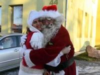 013 XVIII Ülemaaline Jõuluvanade konverents asus teele Sindist. Foto: Urmas Saard