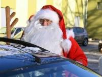 016 XVIII Ülemaaline Jõuluvanade konverents asus teele Sindist. Foto: Urmas Saard