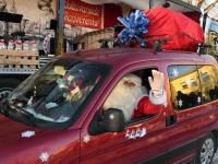 017 XVIII Ülemaaline Jõuluvanade konverents asus teele Sindist. Foto: Urmas Saard