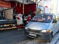 018 XVIII Ülemaaline Jõuluvanade konverents asus teele Sindist. Foto: Urmas Saard