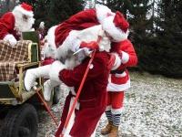 017 XVIII Ülemaalise Jõuluvanade konverentsi esimese adventpüha teekonnal. Foto: Urmas Saard