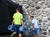 007 XXVI Viljandi pärimusmuusika festivali ettevalmistused. Foto: Urmas Saard
