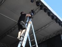 037 XXVI Viljandi pärimusmuusika festivali ettevalmistused. Foto: Urmas Saard