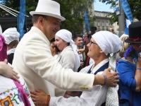 "012 XXVII laulu- ja XX tantsupeo ""Minu arm"" rongkäik. Foto: Urmas Saard"