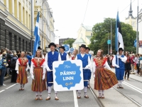 "073 XXVII laulu- ja XX tantsupeo ""Minu arm"" rongkäik. Foto: Urmas Saard"