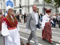 "075 XXVII laulu- ja XX tantsupeo ""Minu arm"" rongkäik. Foto: Urmas Saard"