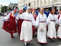 "093 XXVII laulu- ja XX tantsupeo ""Minu arm"" rongkäik. Foto: Urmas Saard"