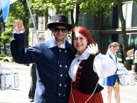 "124 XXVII laulu- ja XX tantsupeo ""Minu arm"" rongkäik. Foto: Urmas Saard"