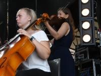 014 XXVII Viljandi pärimusmuusika festivali avakontserdil Kaevumäel. Foto: Urmas Saard