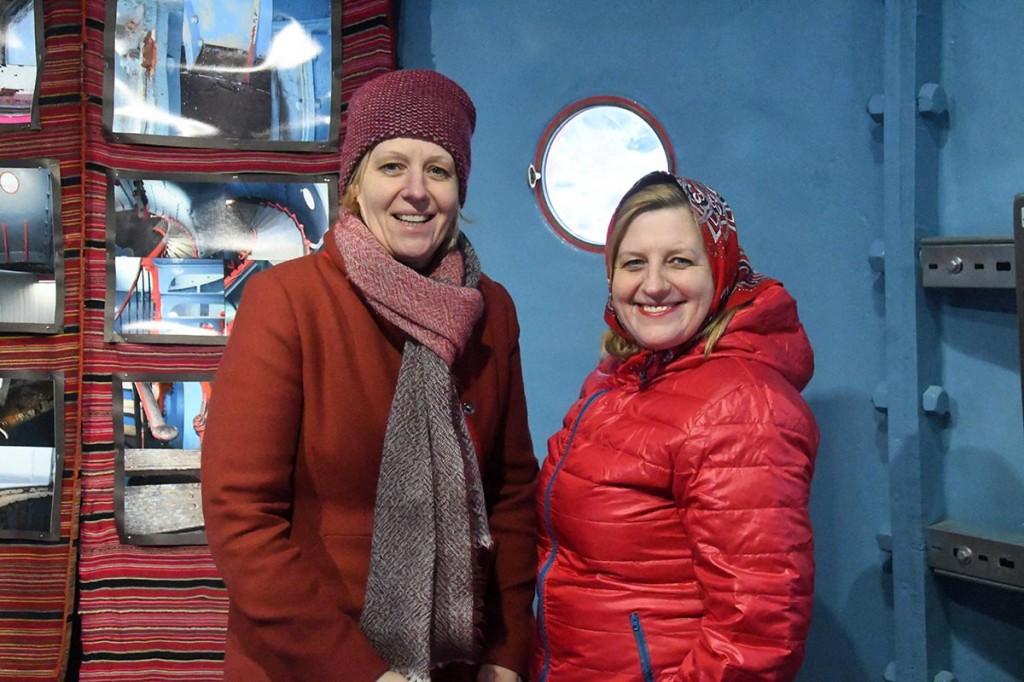 Õed ettevõtjad - Annely Akkermann ja Elly Karjam. Foto Urmas Saard